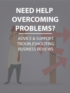 Help overcoming problems